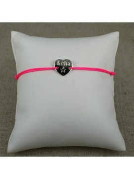 Bracelet petit cœur en argent 925