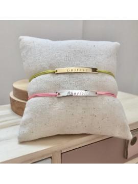 Bracelet gourmette à graver pour enfant ou bébé