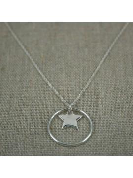 """collier """"Dans ma Bulle"""" étoile"""