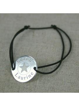 Médaille étoile 15 ou 20 mm à graver