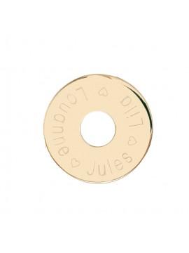Médaille cible à personnaliser
