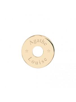Médaille cible 15 mm à personnaliser