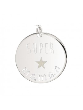 Médaille personnalisée thème Super maman