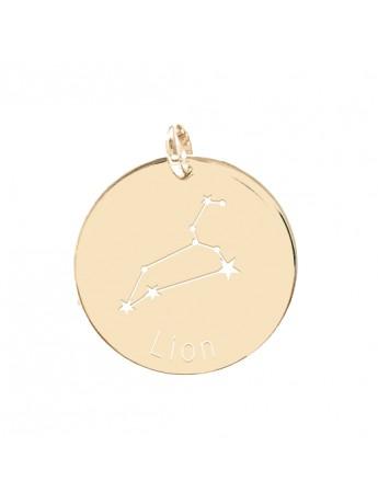 Médaille personnalisée Constellation lion