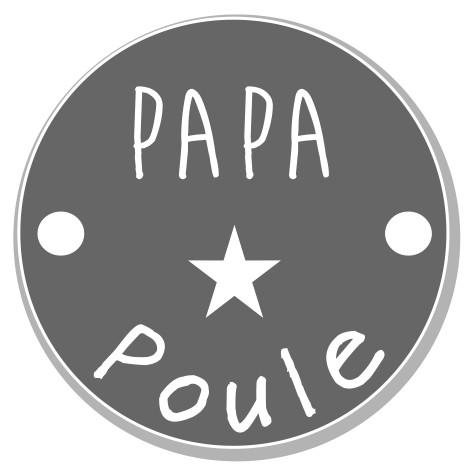 thème papa : 8 Papa poule, 2 trous