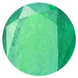 Zircon vert émeraude
