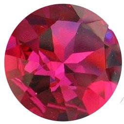 Zircon rubis rose fushia