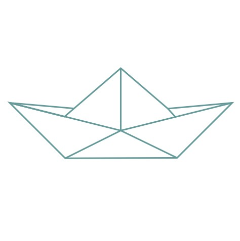thème origami : bateau