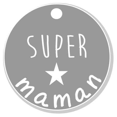 thème maman : 3 Super maman, pendante