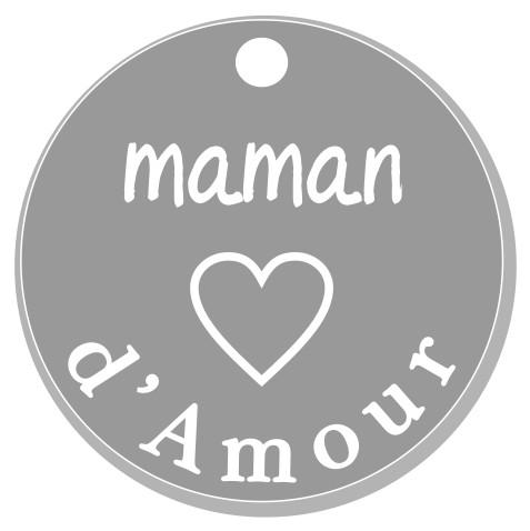 thème maman : 4 Maman d'amour, pendante