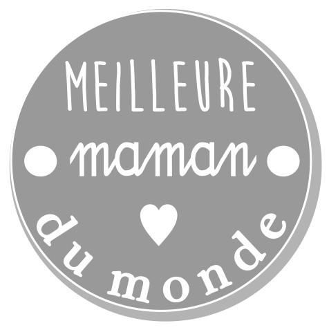thème maman : 1 Meilleure maman du monde, 2 trous