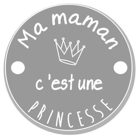 thème maman : 6 Maman c'est une princesse. 2 trous
